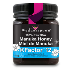 Wedderspoon Manuka Honey KFactor 12+ (2 Sizes Available)