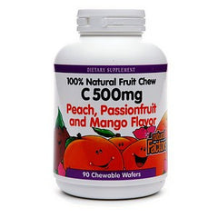 Natural Factors C 500 mg Peach, Passionfruit and Mango