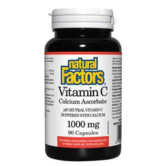 Natural Factors Vitamin C Calcium Ascorbate 1000 mg