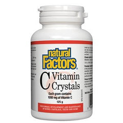 Natural Factors Vitamin C 1000 mg Crystals