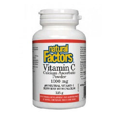 Natural Factors Vitamin C Calcium Ascorbate Powder 1000 mg