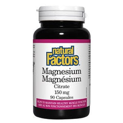 Natural Factors Magnesium Citrate 150 mg