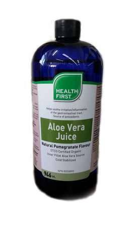 Health First Aloe Vera Juice Natural Pomegranate Flavour