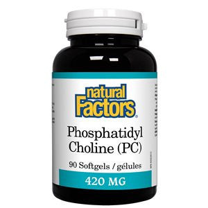Natural Factors Phosphatidyl Choline (PC) 420 mg