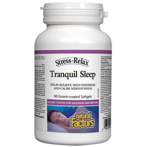 Natural Factors Tranquil Sleep Softgels