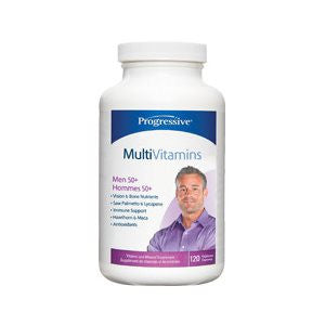 Progressive MultiVitamins for Men 50 +