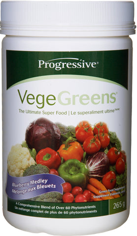Progressive VegeGreens Blueberry Medley