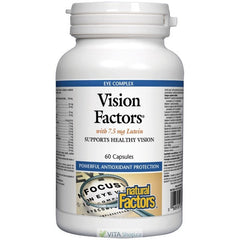 Natural Factors Vision Factors with 7.5 mg Lutein