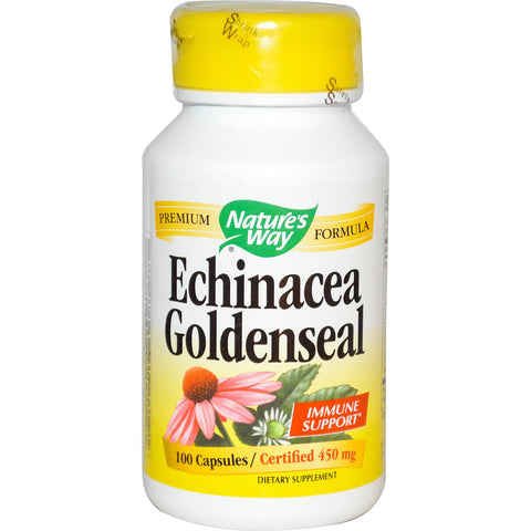 Natures Way Echinacea Goldenseal