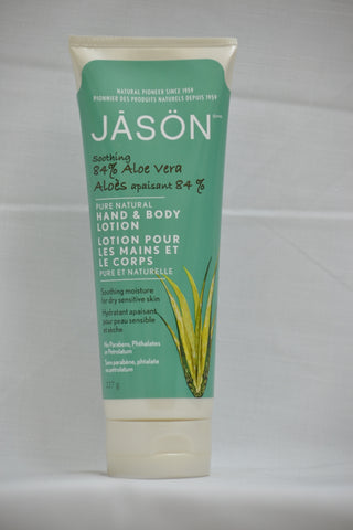 Jason 84 % Aloe Vera Hand and Body Lotion