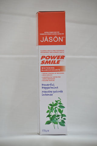 POWER SMILE PEPPERMINT WHITENING TOOTHPASTE