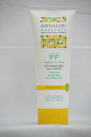 Andalou Sunflower and Citrus Brilliant Shine Styling Gel