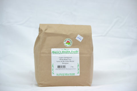 ORGANIC STONEGROUND WHOLE WHEAT FLOUR