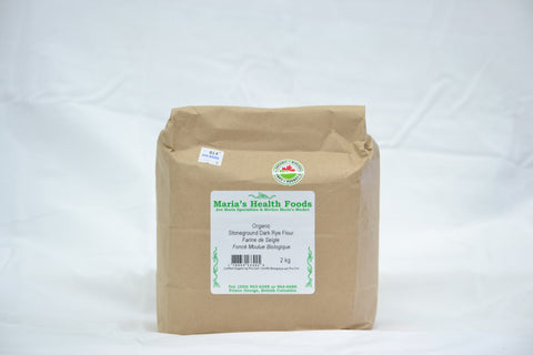 ORGANIC STONE GROUND DARK RYE FLOUR