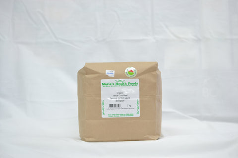 ORGANIC YELLOW CORN MEAL 2KG