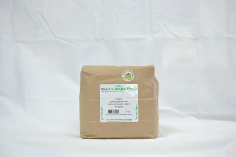 ORGANIC LIGHT BUCKWHEAT FLOUR