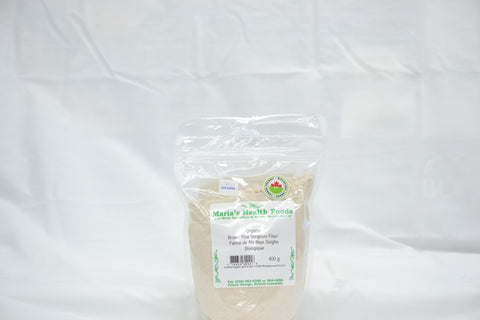 ORGANIC BROWN RICE SORGHUM FLOUR