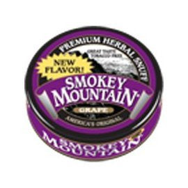 Smokey Mountain Grape Herbal Snuff