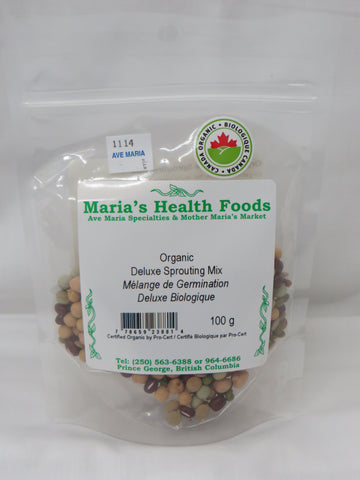 ORGANIC DELUXE SPROUTING MIX