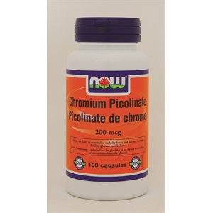 Now Chromium Picolinate 200mcg