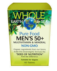 Whole Earth and Sea Men's 50+ Multivitamin and Mineral