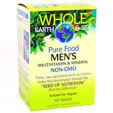 Whole Earth and Sea Men's Multivitamin and Mineral