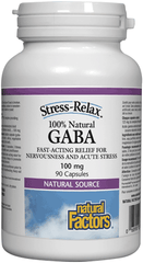 Natural Factors 100% Natural GABA