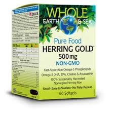 Whole Earth and Sea Herring Gold