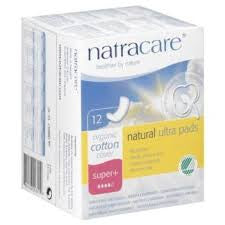 SUPER PLUS NATURAL ULTRA PADS