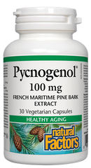 Natural Factors Pycnogenol 100 mg