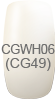 Calgel Color Gel Nail CGWH06S