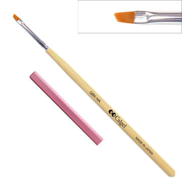 GBK-HAC Gel Angular Small Brush Cap Set