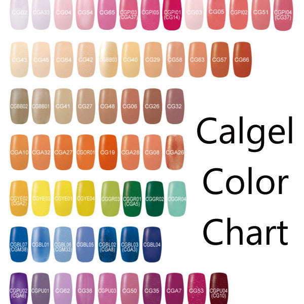 Calgel Colors