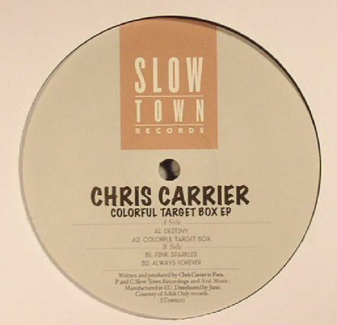 Chris Carrier - Colorful Target Box EP