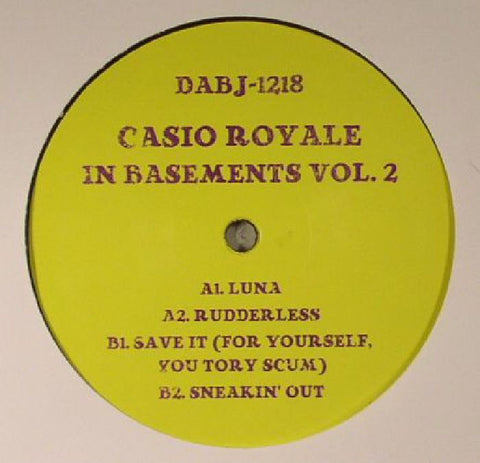 Casio Royale - In Basements Vol 2