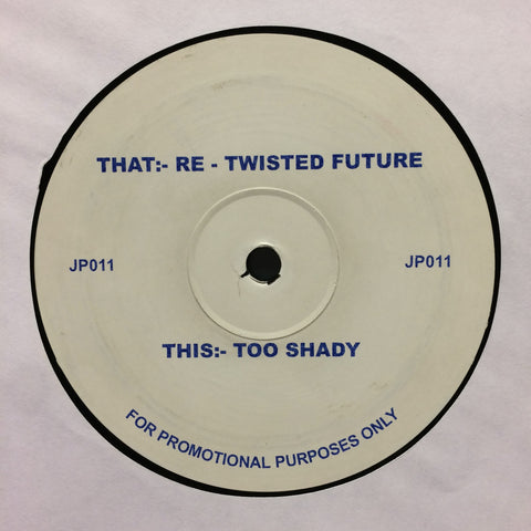 BM Dubs ‎– Re-Twisted Future / Too Shady [VG+]