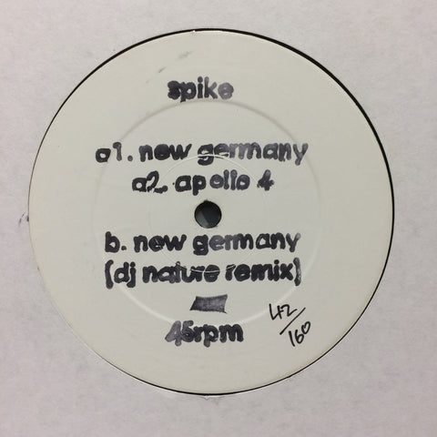 Spike ‎– New Germany [VG+]