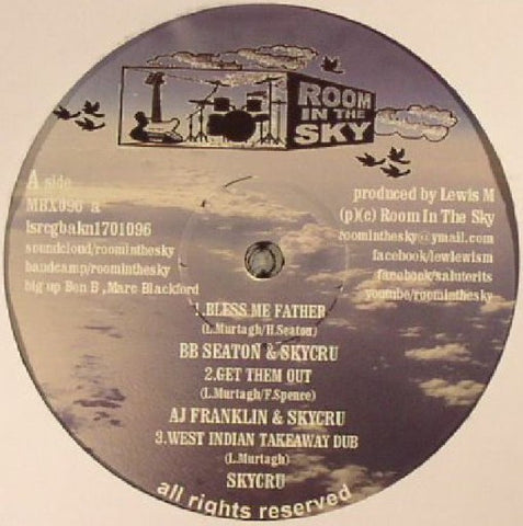 BB Seaton & Skycru ‎– Bless Me Father [VG+]