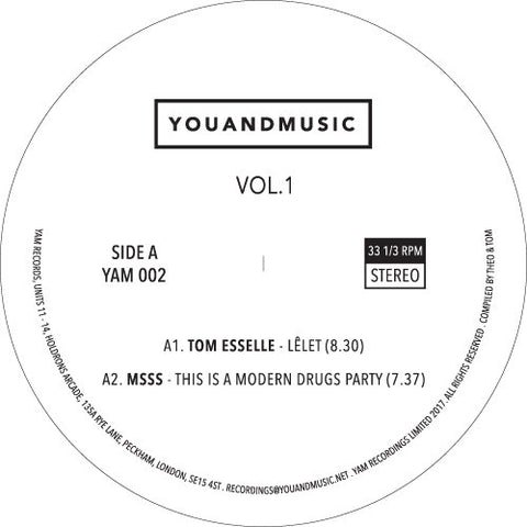 Various - YOUANDMUSIC Vol. 1