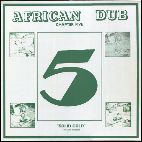 Gibbs & The Professionals ‎– African Dub Chapter Five [VG+/VG+]