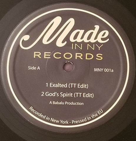 Unknown Artist ‎– Made In NY EP 1