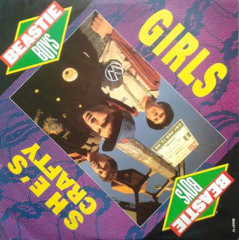 Beastie Boys ‎– Girls / She's Crafty [VG+/G]