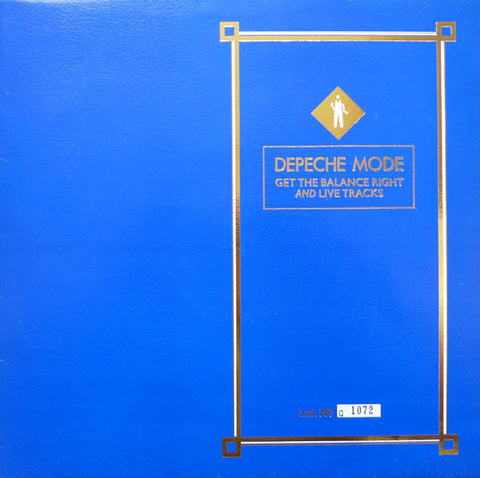 Depeche Mode ‎– Get The Balance Right And Live Tracks [VG+/VG]