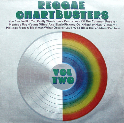 Various ‎– Reggae Chartbusters Vol Two [VG/G]