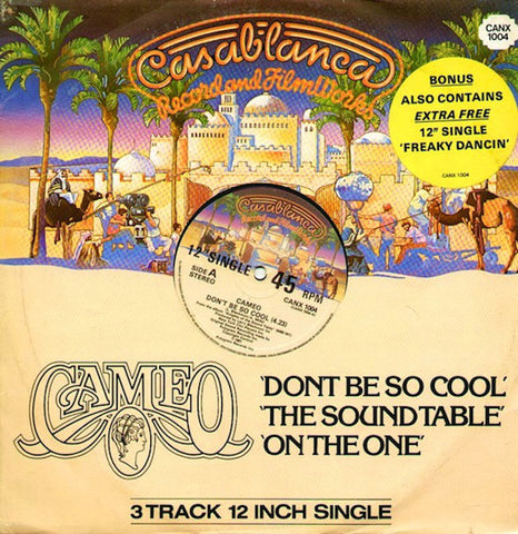 Cameo ‎– Don't Be So Cool / The Sound Table / On The One/ Freaky Dancin [VG+/VG]