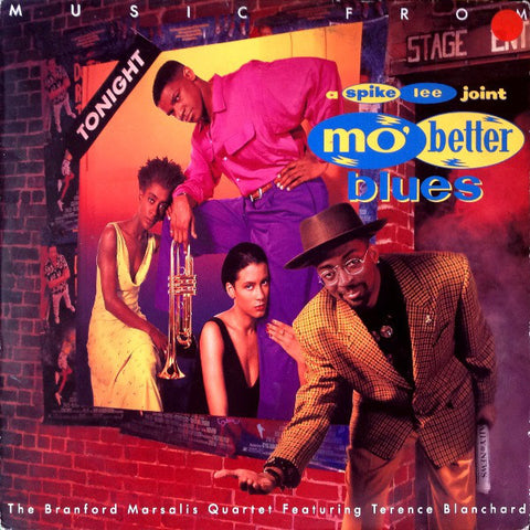Branford Marsalis Quartet Featuring Terence Blanchard ‎– Music From Mo' Better Blues [VG+/VG+]