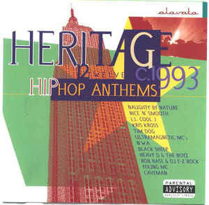 Various ‎– Heritage - 12 Hip Hop Anthems [VG+/VG+]
