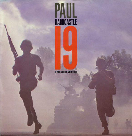 Paul Hardcastle ‎– 19 (Extended Version) [VG+/VG]