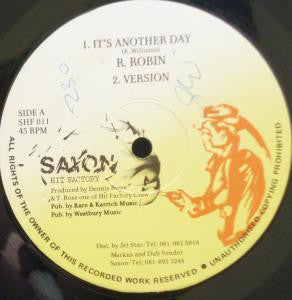 R. Robin ‎– It's Another Day [VG+]