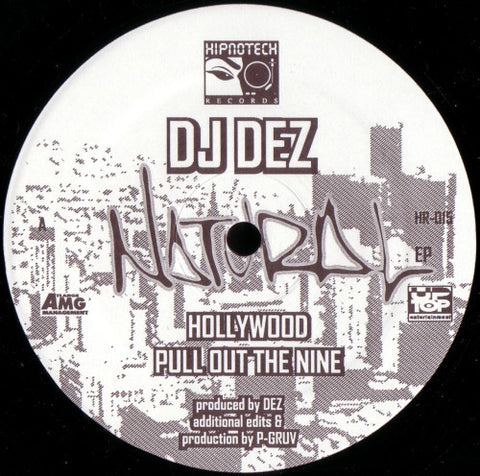 DJ Dez ‎– Natural EP [VG]